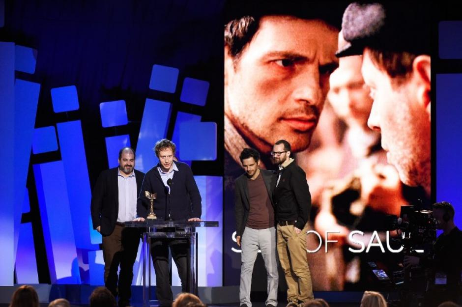"""Son of Saul"" ganó como mejor película internacional (Foto: AFP)"