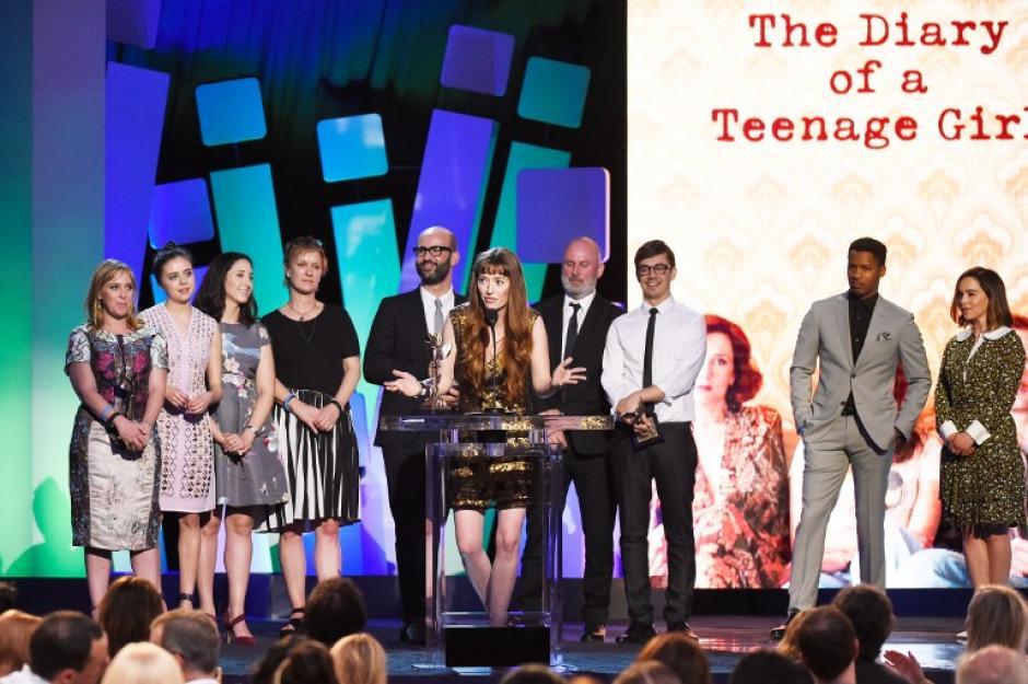 """The Diary of a Teenage Girl"" ganó como mejor primera película (Foto: AFP)"