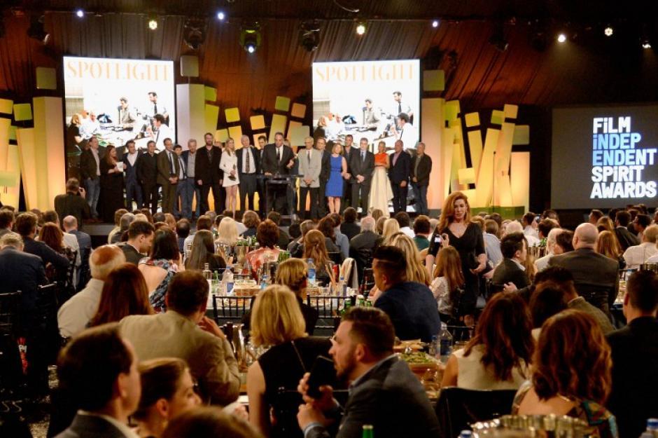 """La película """"Spotlight"""" fue la ganadora de la noche. (Foto: AFP)"""