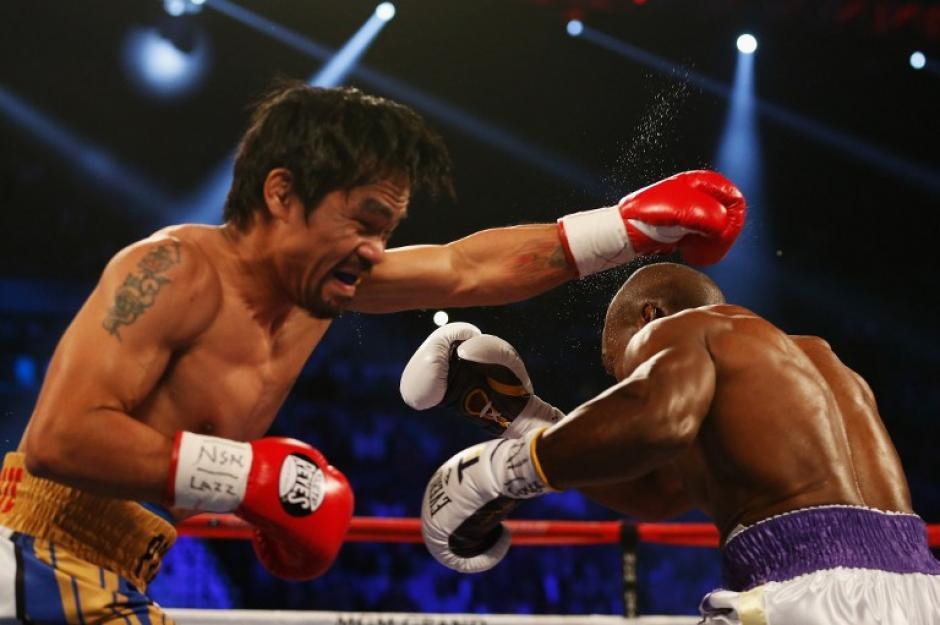 Por decisión unánime Manny Pacquiao derrotó a TIm Bradley. (Foto: AFP)