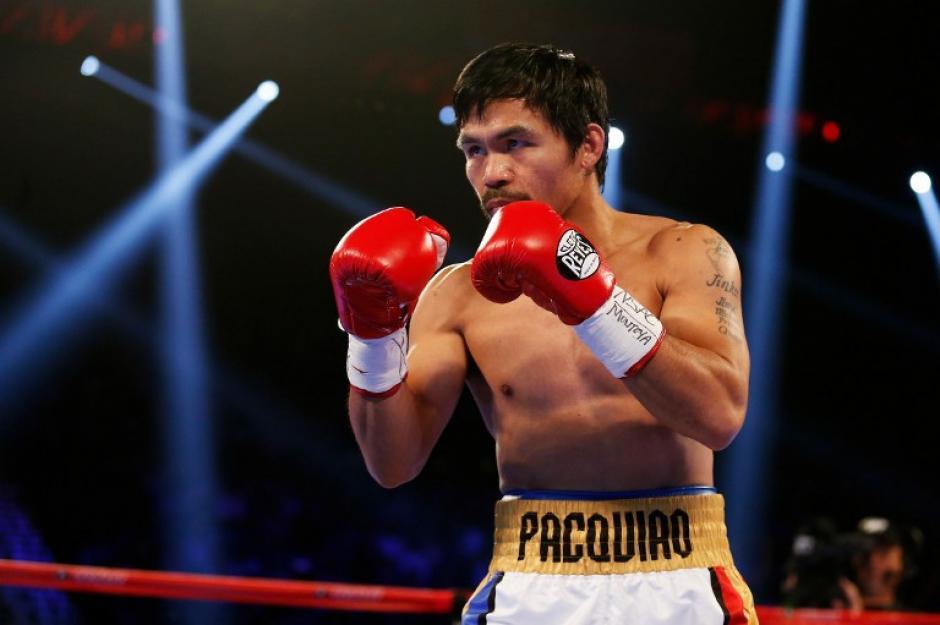 """Pacquiao dice """"adiós"""" con 58 triunfos en su carrera. (Foto: AFP)"""
