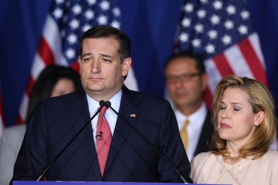"""Por su parte, Ted Cruz llamó """"mentiroso patológico"""" a Trump. (Foto: AFP)"""