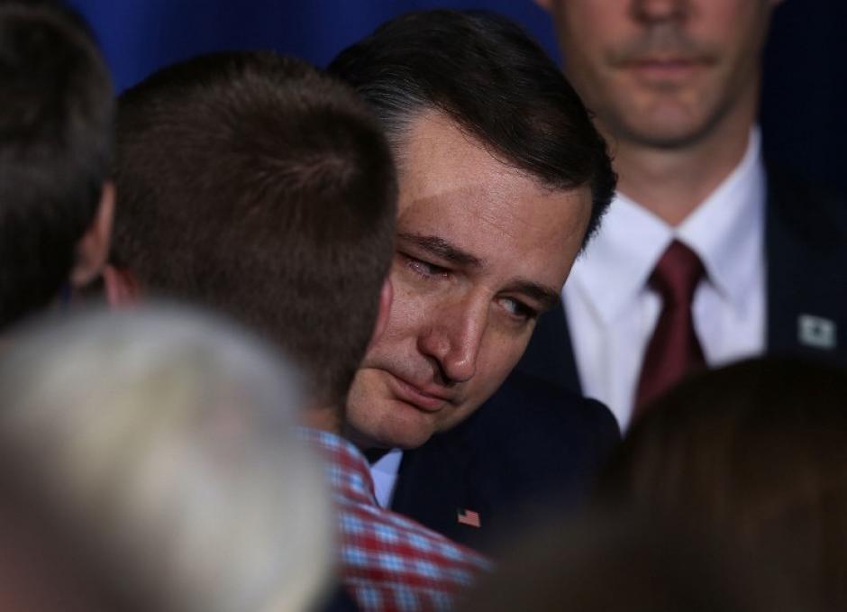 Cruz renunció al no ver posibilidad de ganarle al magnate. (Foto: AFP)