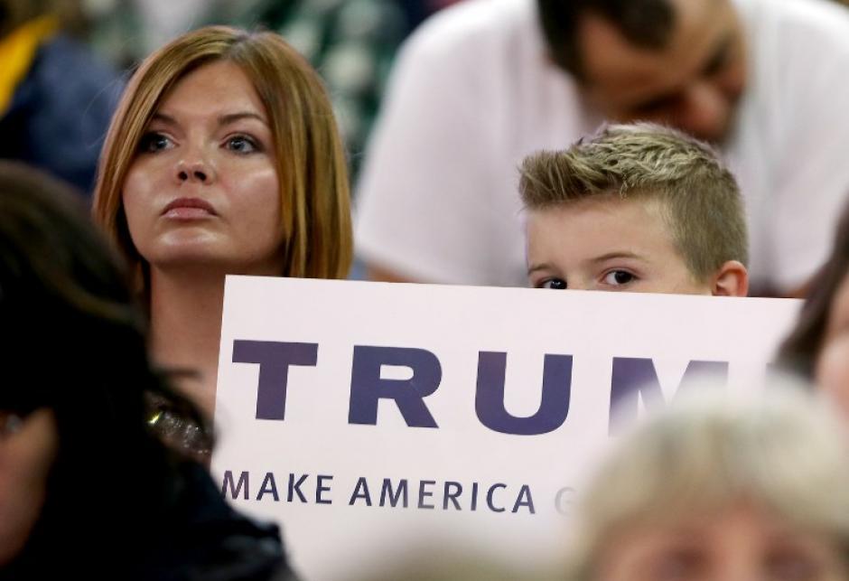 Las estadísticas lo posicionan como el favorito para ganar las elecciones primarias republicanas. (Foto: AFP)