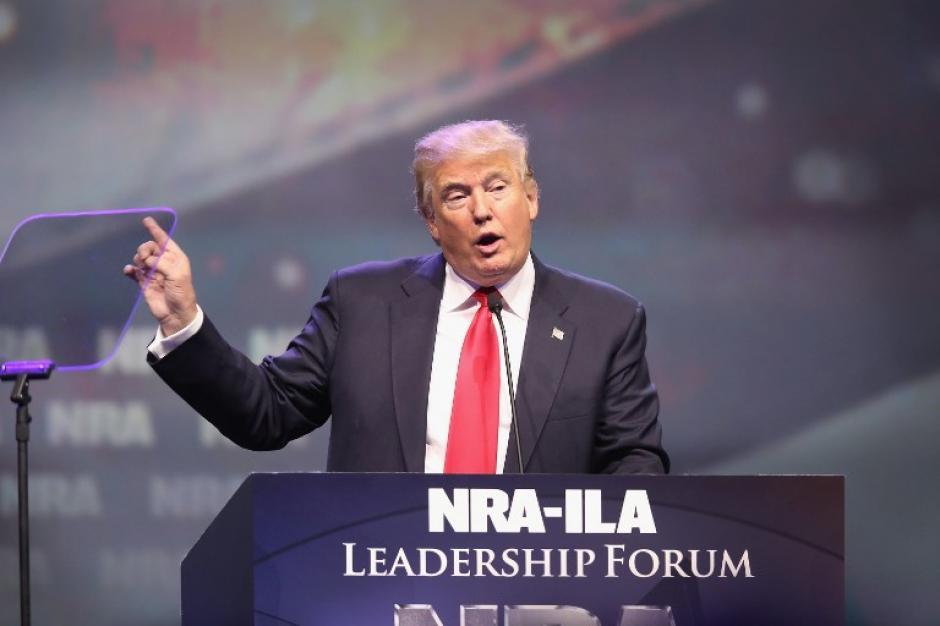 Donald Trump esta entre los máximos favoritos y es virtual candidato del partido republicano. (Foto: AFP)