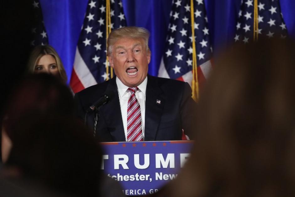 El republicano Donald Trump también deberá elegir compañero para las próximas elecciones. (Foto: AFP)