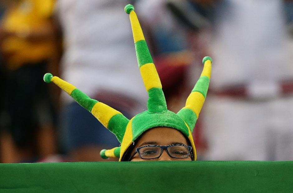 Lamento y frustración, así vivieron los brasileños desde las gradas la eliminación. (Foto: AFP)
