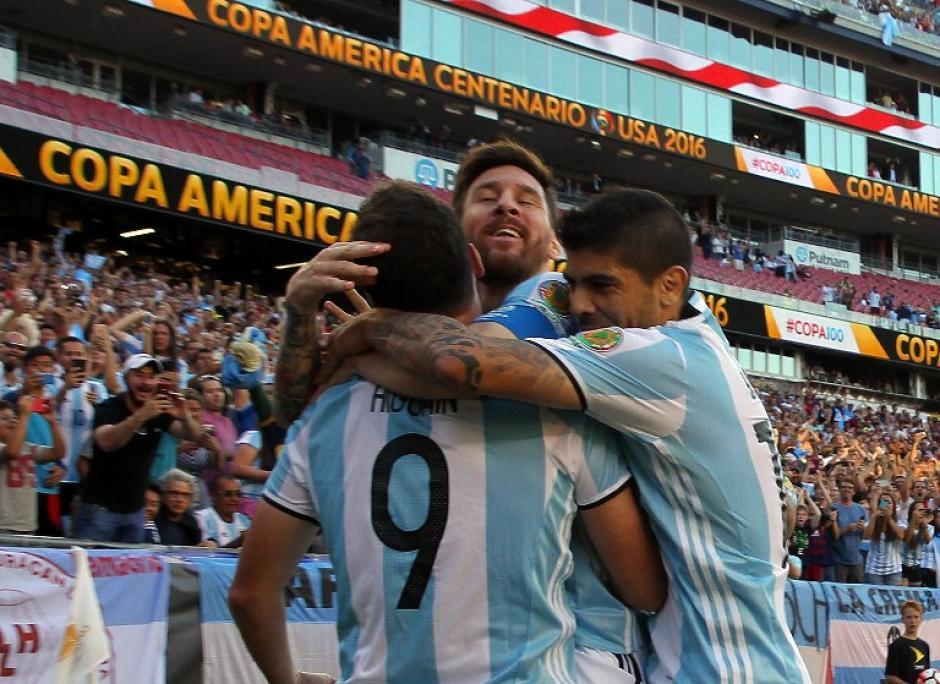 Argentina mostró su potencial ofensivo y avanzó a las semifinales de la Copa América eliminando a Venezuela. (Foto: AFP)
