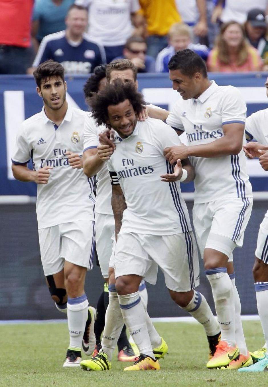 Los merengues todavía no cuentan con Cristiano ni Bale. (AFP)