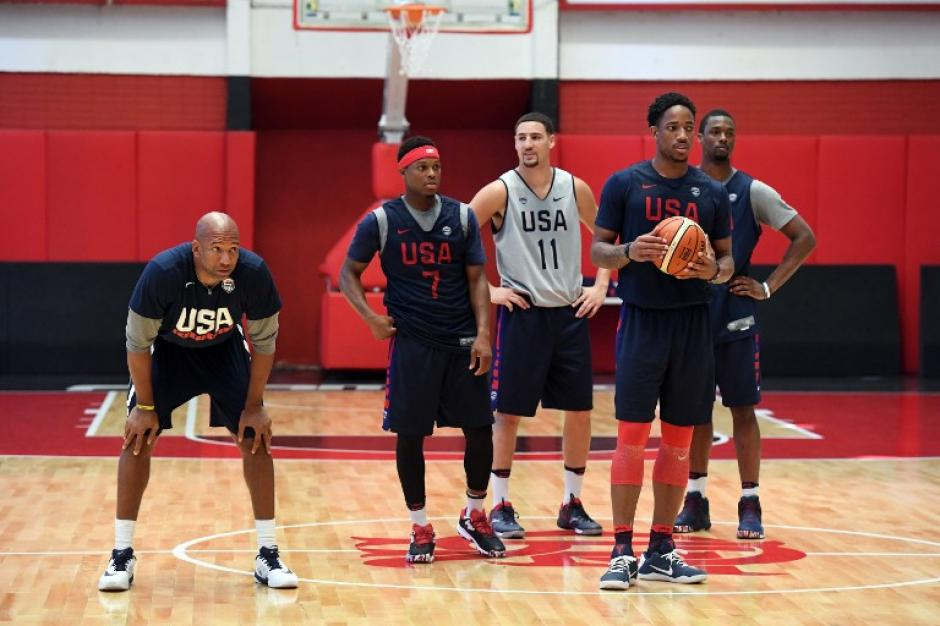 El equipo de baloncesto de EEUU vivió una curiosa anécdota (
