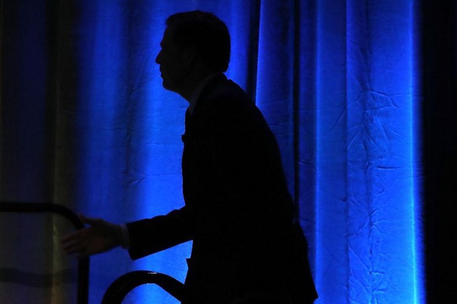 Comey habló sobre seguridad informática. (Foto: AFP)