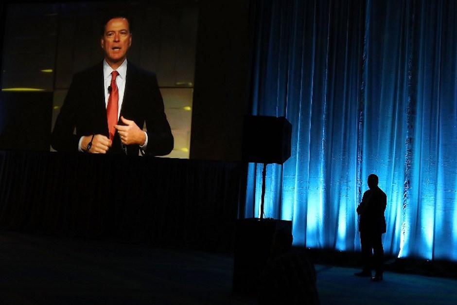 James Comey es el director del FBI (Foto: AFP)