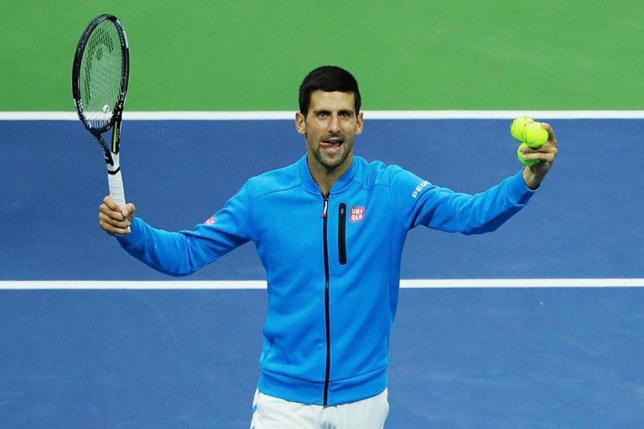 Novak Djokovic está en semis después de solo dos partidos. (Foto: AFP)