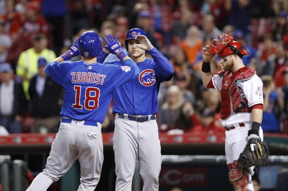 Los Cubs actuales son el mejor equipo de las Grandes Ligas. (Foto: AFP)