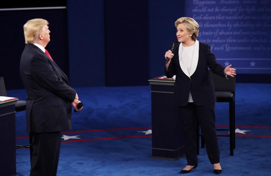La primera hora del debate se tornó polémico y lleno de acusaciones. (Foto: AFP)