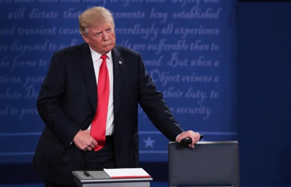 Trump tuvo la palabra 40 minutos y 10 segundos. (Foto: AFP)