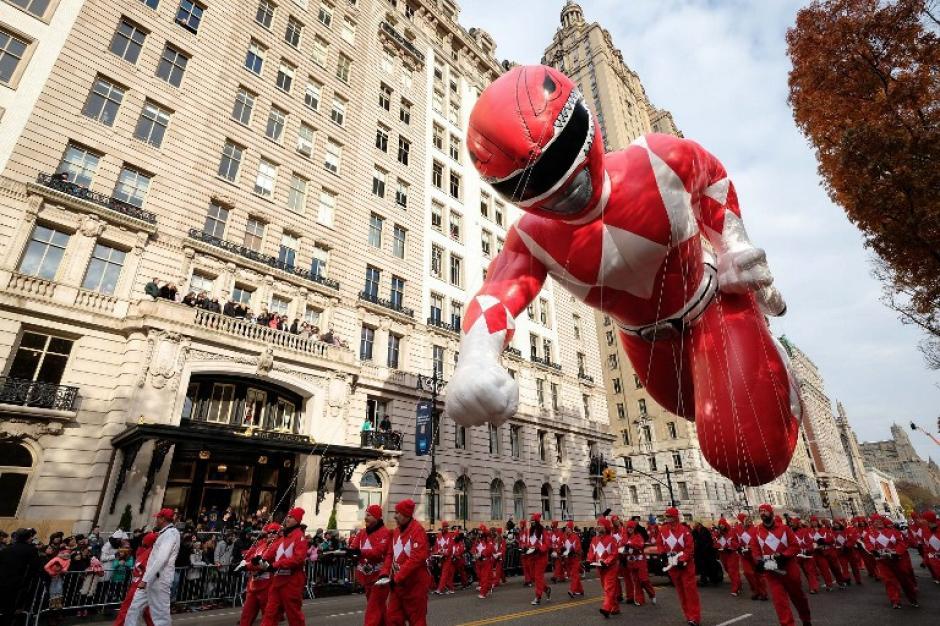 El tradicional desfile de la tienda Macy's cumplió 90 años de recorrer las calles de Nueva York. (Foto: AFP)