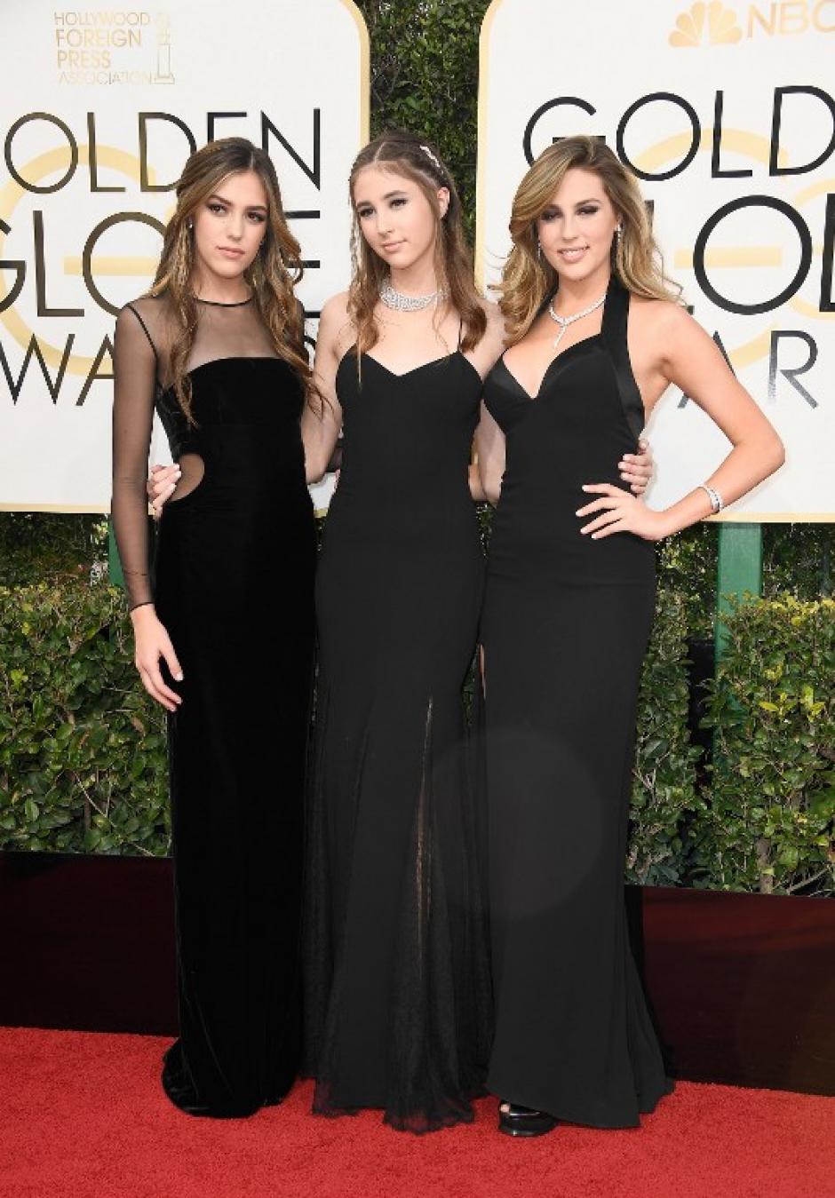 Las tres chicas fueron presentadas por Sofía Vergara. (Foto: AFP)