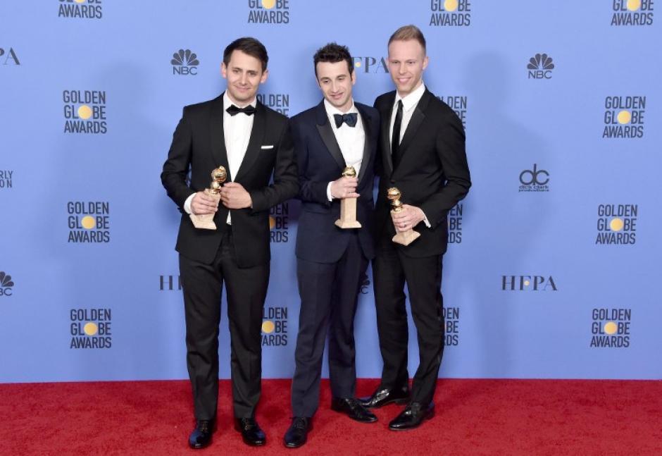 La la Land se llevó la mayoría de los Globos de Oro en las categorías que estuvo nominada. (Foto: AFP)
