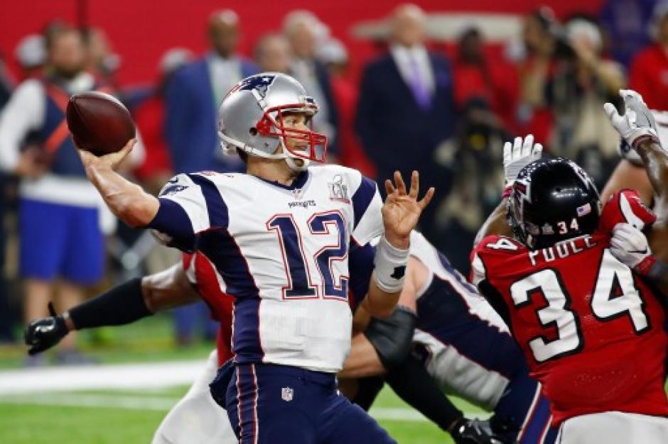 Tom Brady, mariscal de campo de los Patriotas de Nueva Inglaterra. (Foto: AFP)