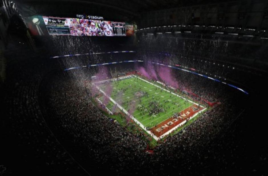 El escenario de la final lució completamente lleno. (Foto: AFP)