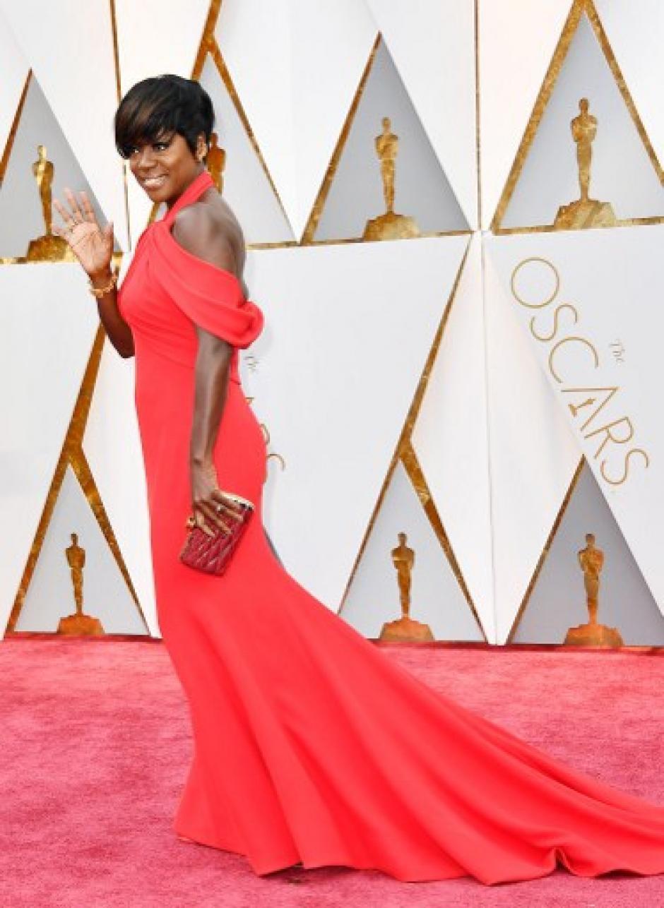 Viola Davis es de las favoritas para ganar el premio a la mejor actriz. (Foto: Frazer Harrison/AFP)