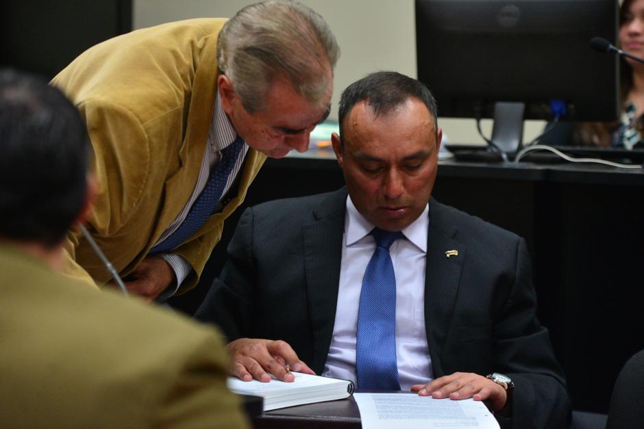 El juez Miguel Ángel Gálvez no determinó cuando se reprogramará la audiencia en contra de Lima Oliva. (Foto: Wilder López/Soy502)