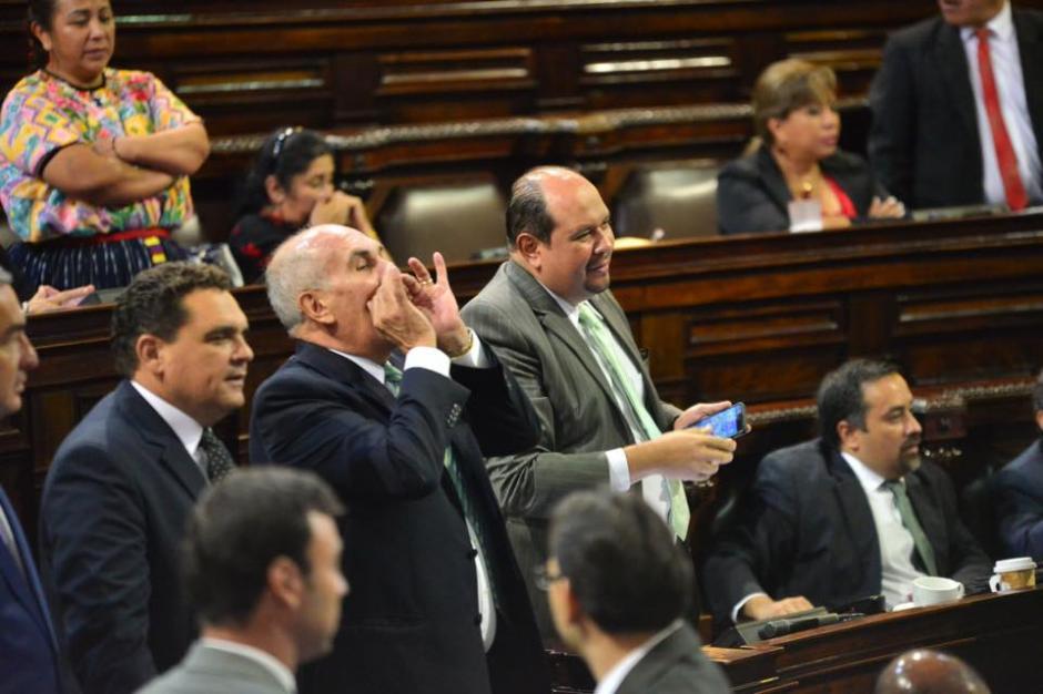 Diputados discutieron este jueves, pues una nueva alianza entre el PP y Lider logró que estos eligieran sin discusión a un nuevo magistrado de la CC. (Foto: Jesús Alfonso/Soy502)
