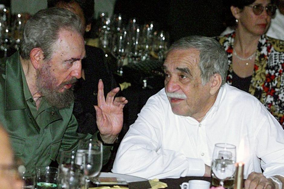 Gabo tuvo una prolongada amistad con Fidel Castro, relación que fue criticada debido a la inclinación política del célebre escritor (Foto: AFP)