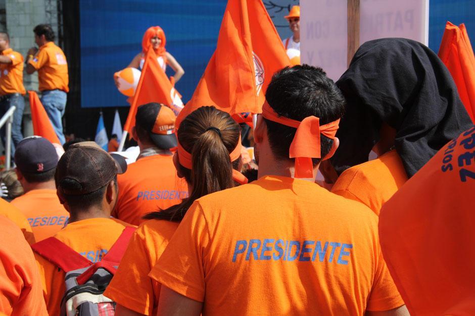 El Partido Patriota ha sido acusado de financiamiento electoral ilícito, pero ¿qué significa? (Foto: Alexis Batres/Soy502)