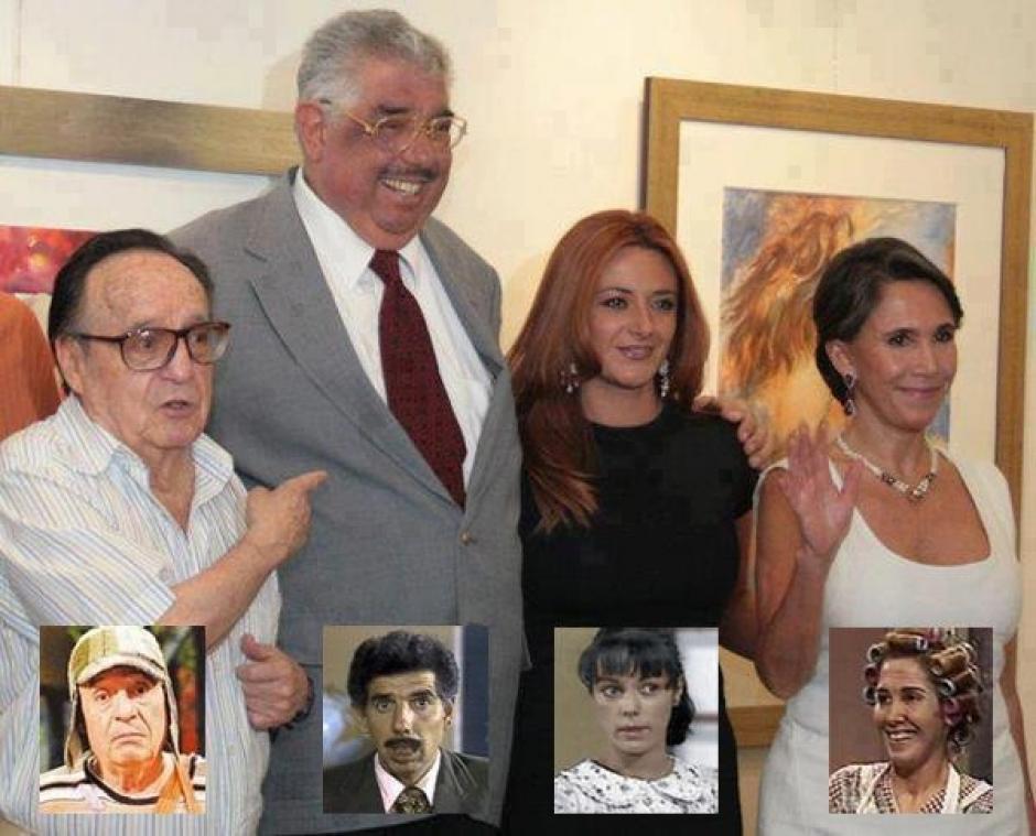 """En el reencuetro de los personajes del El Chavo del 8 estuvo """"Patty"""". (Foto: Es Mas)"""