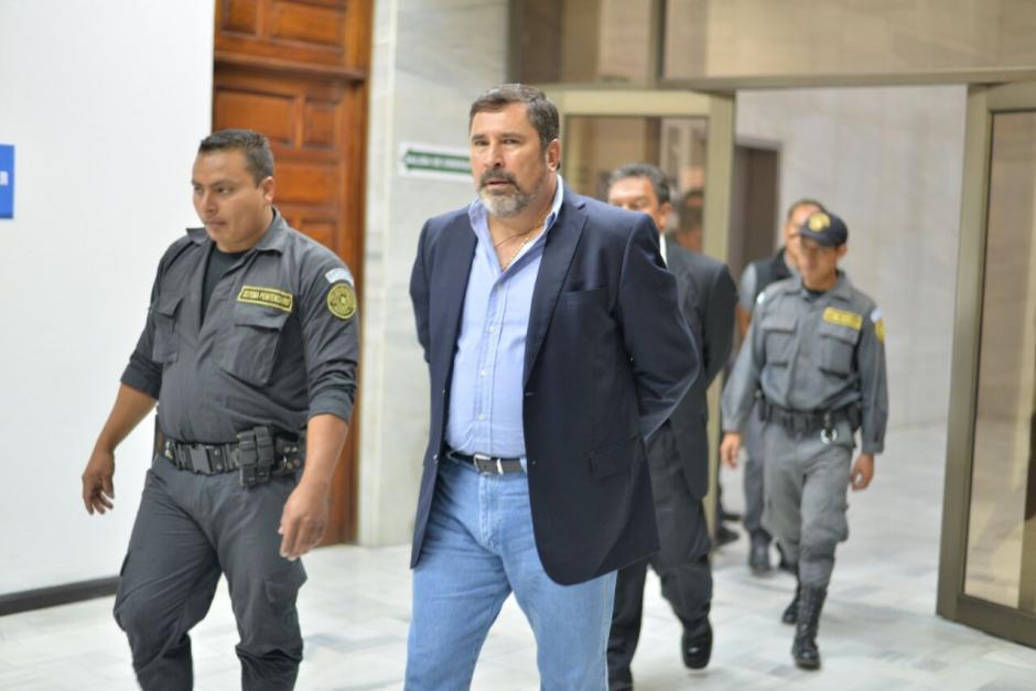 El exministro de Defensa, Ulises Anzueto está implicado en el caso La Cooperacha. (Foto: Wilder López/Soy502)