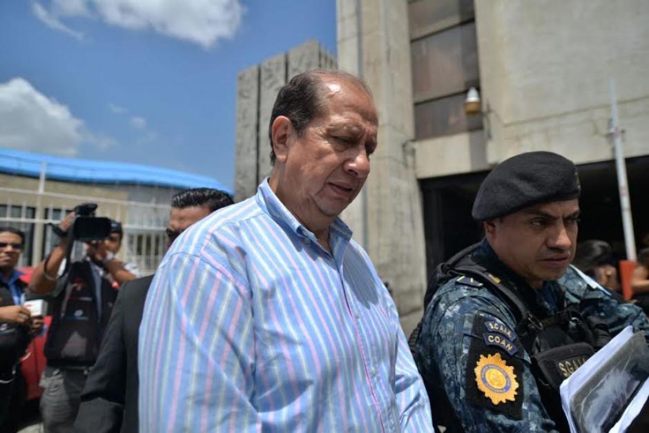 Por este caso también fue capturado el exdiputado Edgar Cristiani.  (Foto: Wilder López/Soy502)