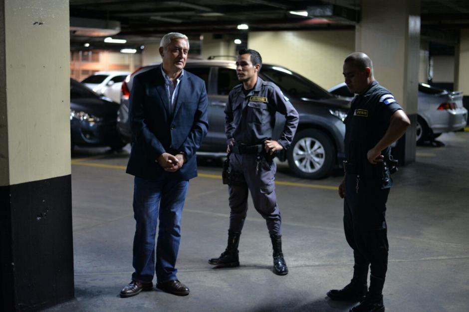 El expresidente Otto Pérez está encarcelado desde el 3 de septiembre de 2015. (Foto: Wilder López/Soy502)