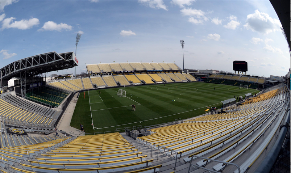 Mapfre Stadium columbus, ohio foto