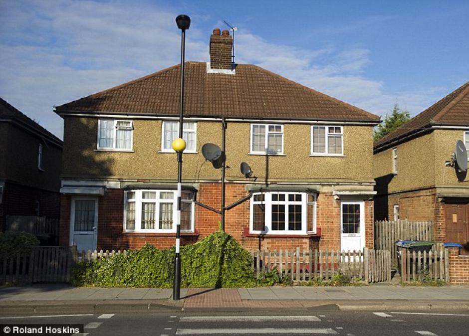 Esta es la casa donde vivieron. (Foto: Mail Online)