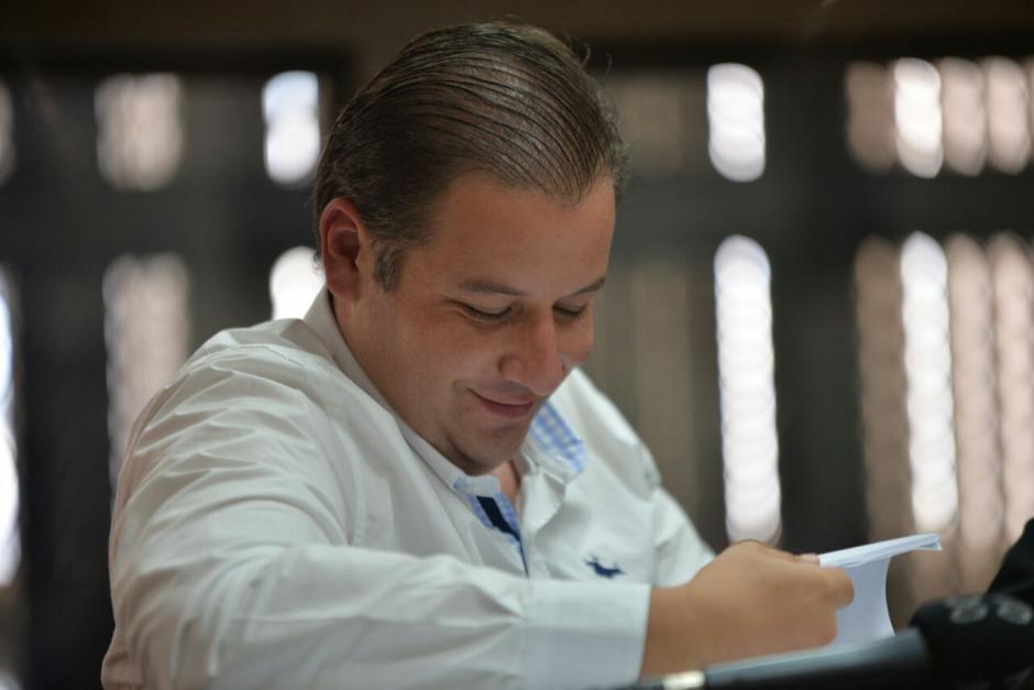 Según el MP Roberto Barreda recibía dinero de Guatemala a cuentas de su entonces novia. (Foto: Wilder López/Soy502)