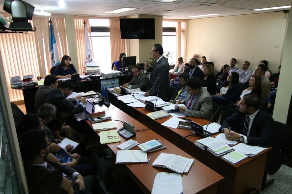 De León fue acusada junto con otras 18 personas de actos de corrupción. (Foto: Alejandro Balán/Soy502)