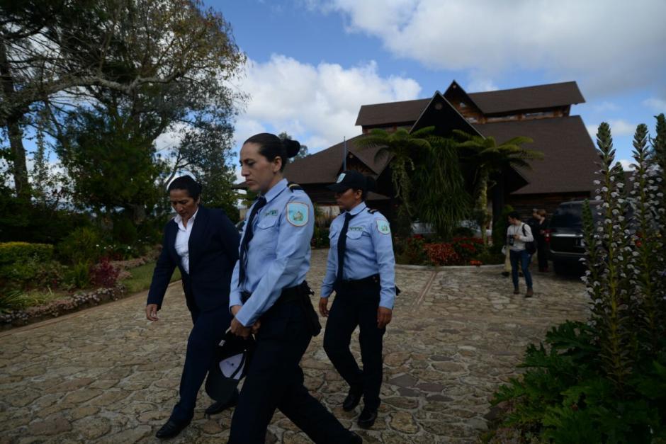 Los nuevos agentes de Presidios no utilizan el tradicional uniforme gris. (Foto: Wilder López/Soy502)