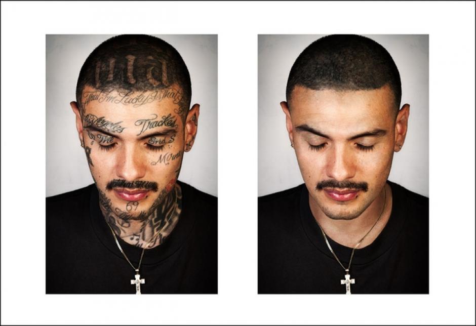 """""""Las personas me miran en las calles, probablemente me ven como una persona peligrosa. Pero renuncié tanto a las drogas como a la violencia"""", Mario Lundes. (Foto: Steven Burton)"""