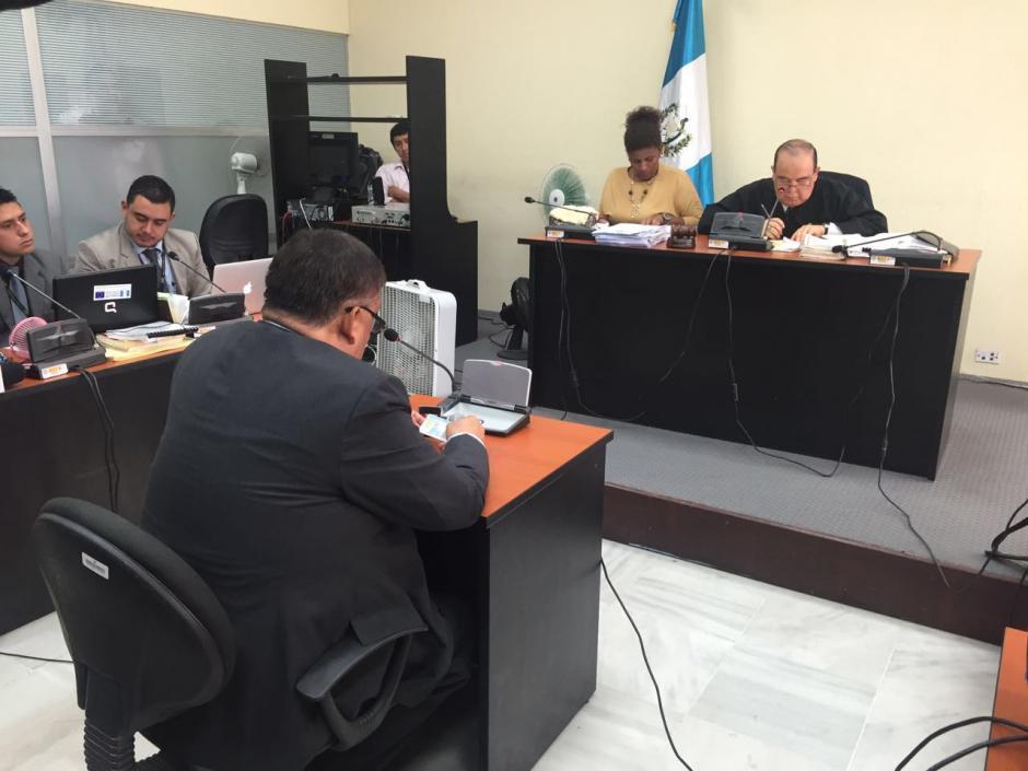 El exfuncionario Carlos Herrera indicó que se dedica al comercio. (Foto: Jesús Alfonso/Soy502)