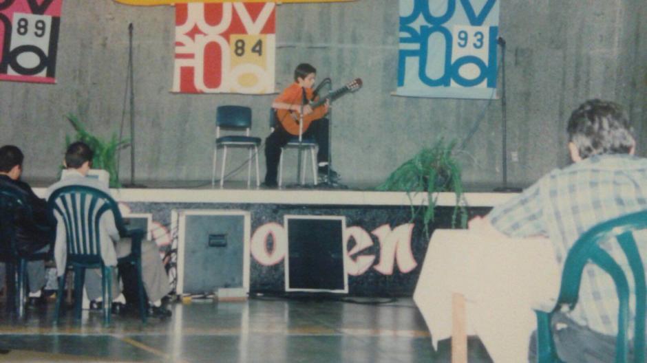 El guatemalteco compartió algunas de sus primeras actuaciones. (Foto: Rodrigo Valdez)