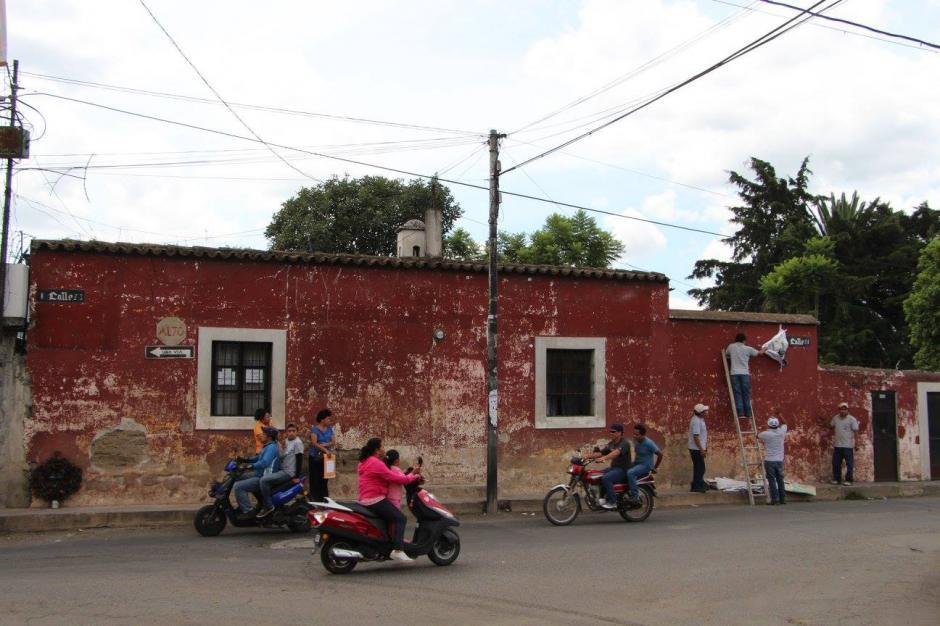 Las mantas pueden ser reclamadas en las instalaciones del Consejo en Antigua Guatemala.(Foto: Facebook: CNPAG)