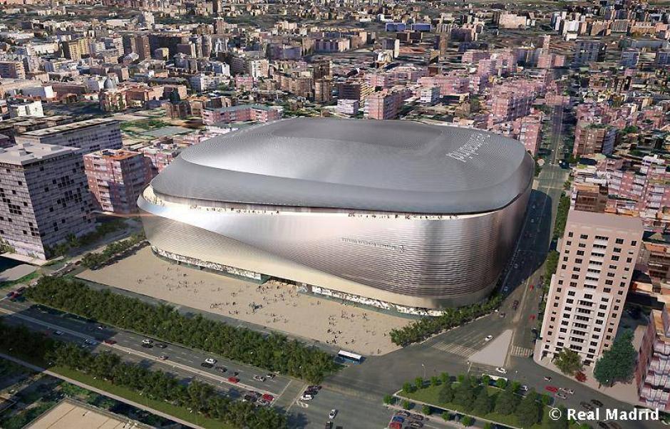 """El nuevo Bernabéu será según Florentino Pérez """"el mejor estadio del mundo"""". (Imagen: Real Madrid)"""