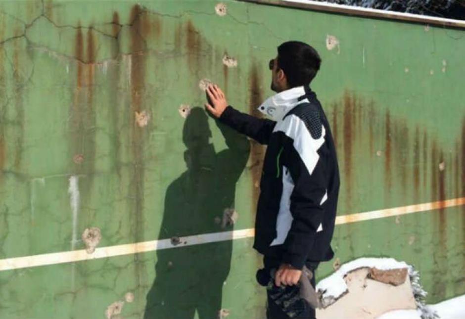 Este es el paredón donde solía entrenar de niño Djokovic. (Foto: Captura de imagen)