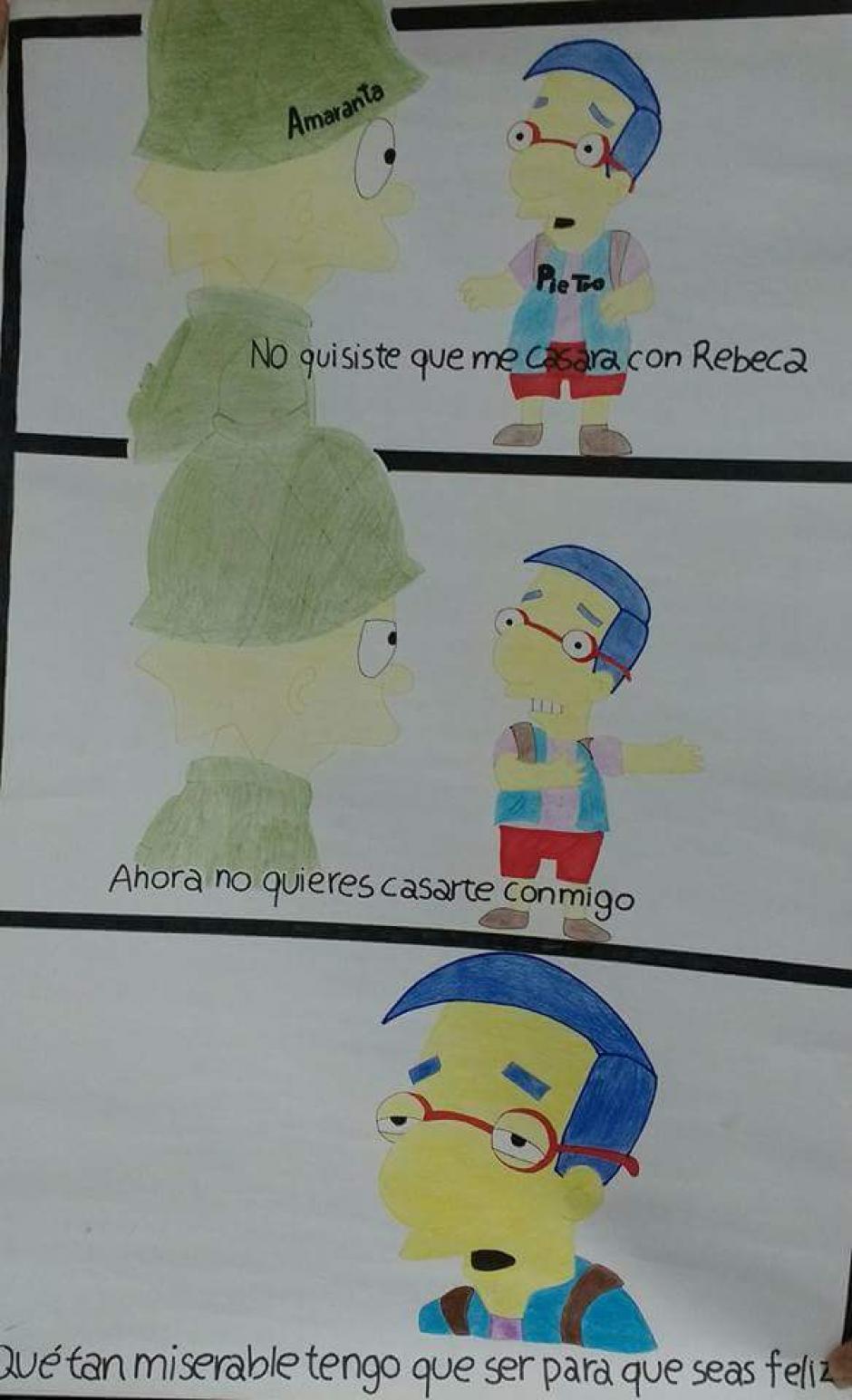 """Hasta Los Simpson salieron a relucir en los divertidos """"memes"""". (Foto: diariodemorelos.com)"""