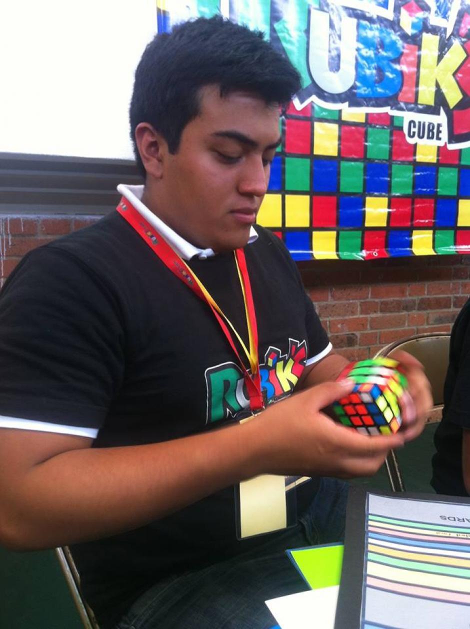 Ángel Ruano, integrante de la Junta Directiva de la Comunidad de Rubik en Guatemala. (Foto: Tekandi Paniagua)