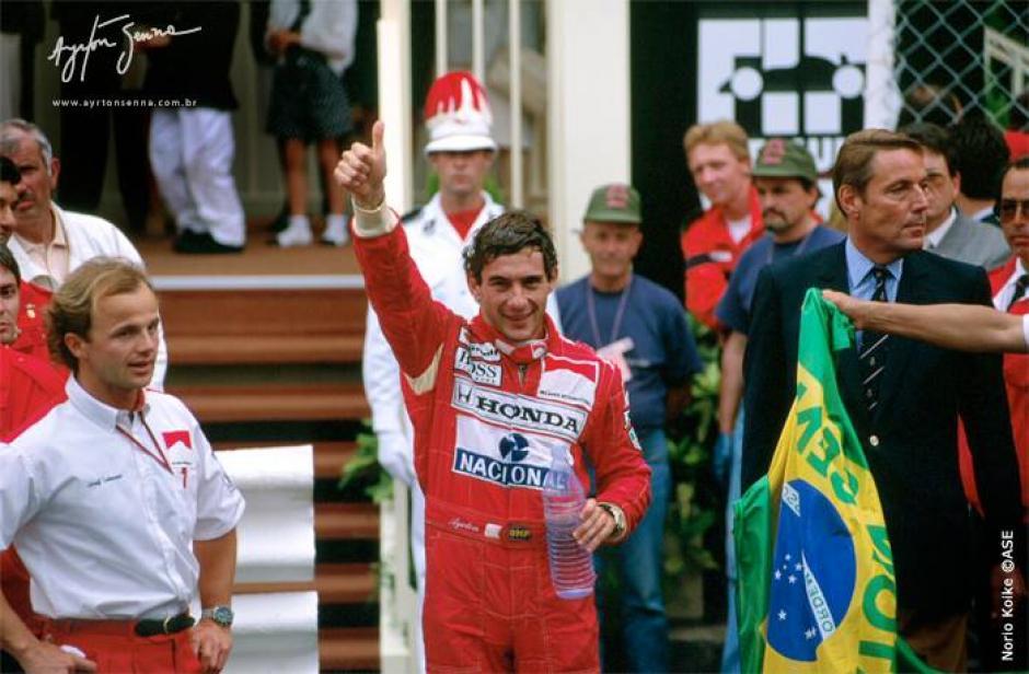 Estuvo once temporadas compitiendo en la Fórmula Uno. (Foto: Ayrton Senna/Facebook)