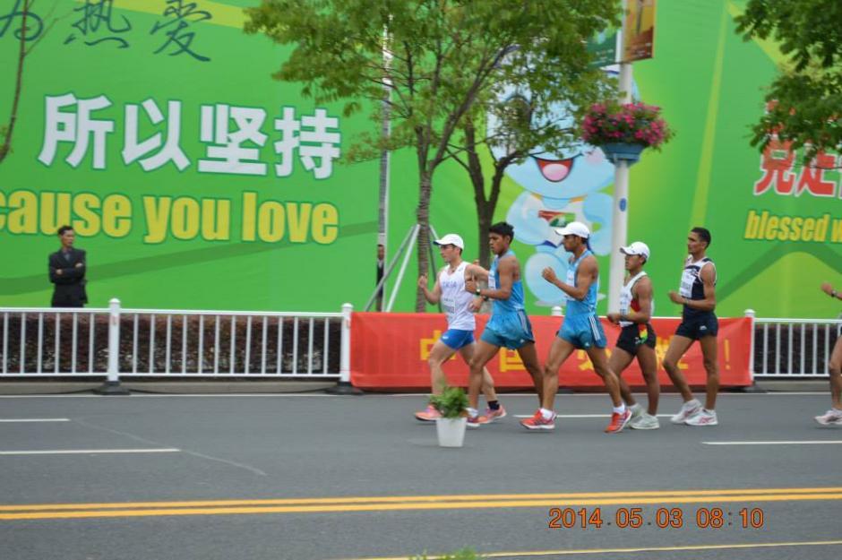 Los marchistas no fueron eliminados por faltas en los 50 kilómetros. (Foto: COG)