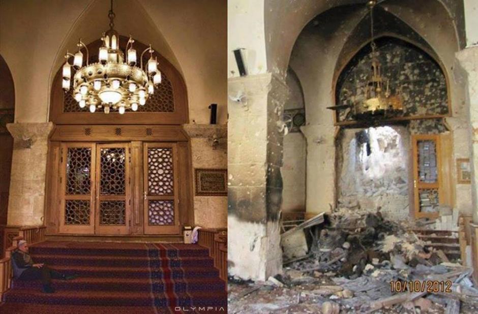 La Gran Mezquita Omeya. (Foto: Olympia.Rest/Facebook)